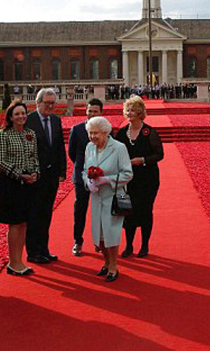 Red Carpet Express at the Chelsea Flower Show!
