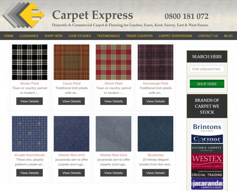 Happy #StAndrewsDay , why not buy a #blue or #tartan #carpet to celebrate!