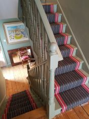 Roger Oates-Clapham Common-excellent job done by our fitter Barry,Roger Oates can make a simple staircase stylish